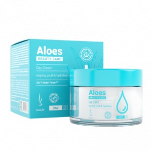 DuoLife Beauty Care Aloes Day Cream - 50ml